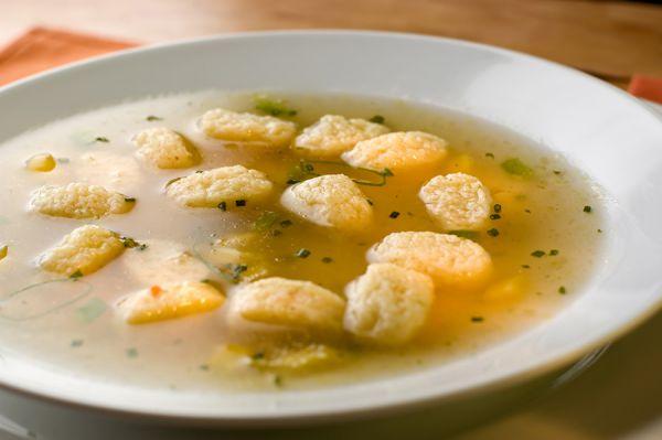 Суп с клецками пошаговый с фото с курицей